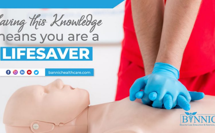 Having this Knowledge Means You are a Life Saver